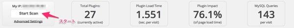 P3 Plugin Profiler ままはっく WordPress mini