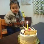 1歳の誕生日を迎え、成長してできるようになった40の事