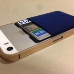 ICカード収納iPhoneケースの決定版!?SuicaやICOCA対応のシンジポーチが便利