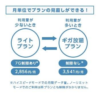 WiMAX2_もデータ量制限なしのギガ放題プラン Broad_WiMAX(ブロードワイマックス)