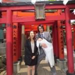 生後3ヶ月弱だけれど、穴守稲荷神社でお宮参りをしてきたよ