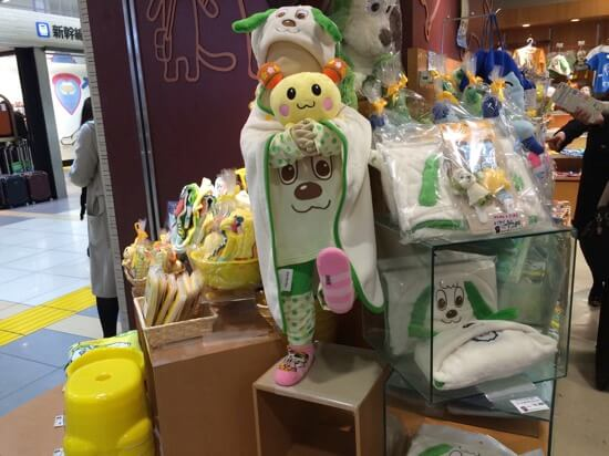 東京駅 NHKショップ いないいないばあっ!